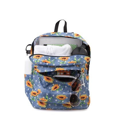 Alternate view of JanSport Superbreak Sunflower Backpack - Blue