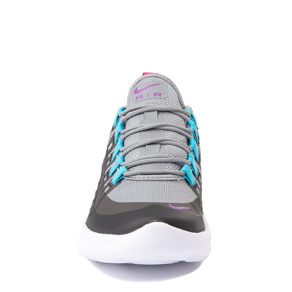 alternate view Nike Air Max Axis Athletic Shoe - Big Kid - Gray / Purple / TurquoiseALT4