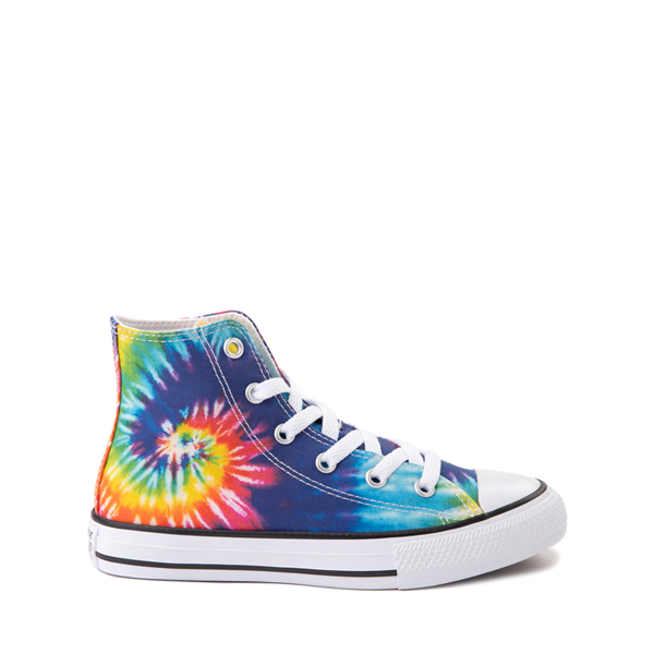 Main view of Converse Chuck Taylor All Star Hi Sneaker - Little Kid - Tie Dye