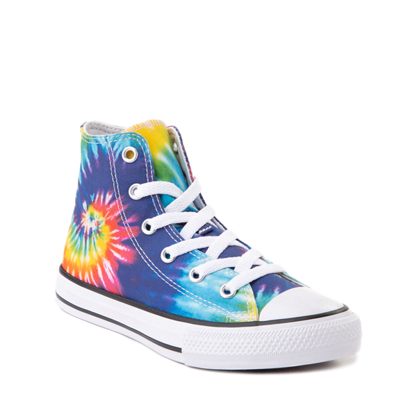 alternate view Converse Chuck Taylor All Star Hi Sneaker - Little Kid - Tie DyeALT5