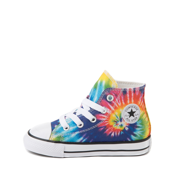alternate view Converse Chuck Taylor All Star Hi Sneaker - Baby / Toddler - Tie DyeALT1