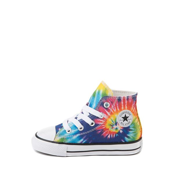 alternate view Converse Chuck Taylor All Star Hi Sneaker - Baby / Toddler - Tie DyeALT1