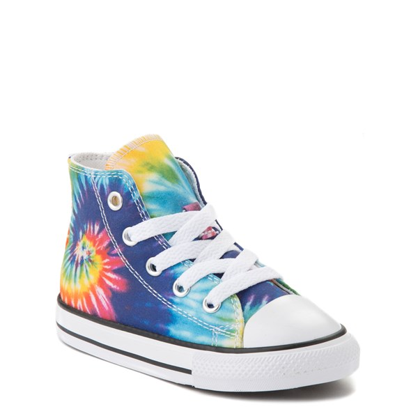 alternate view Converse Chuck Taylor All Star Hi Sneaker - Baby / Toddler - Tie DyeALT1B