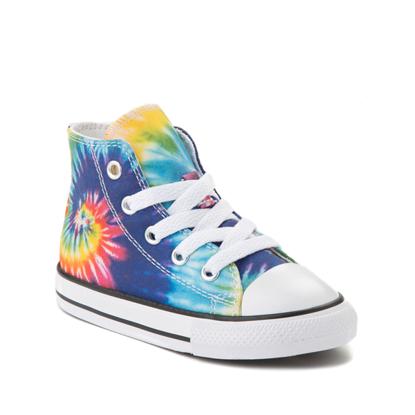 alternate view Converse Chuck Taylor All Star Hi Sneaker - Baby / Toddler - Tie DyeALT5