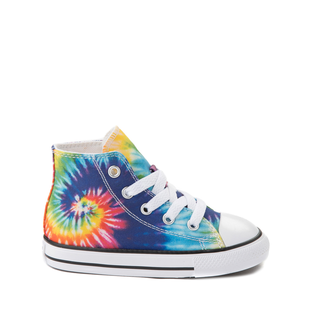 Converse Chuck Taylor All Star Hi Sneaker - Baby / Toddler - Tie Dye