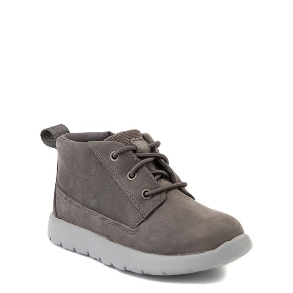 alternate view UGG® Canoe Chukka Boot - Toddler / Little Kid - CharcoalALT1