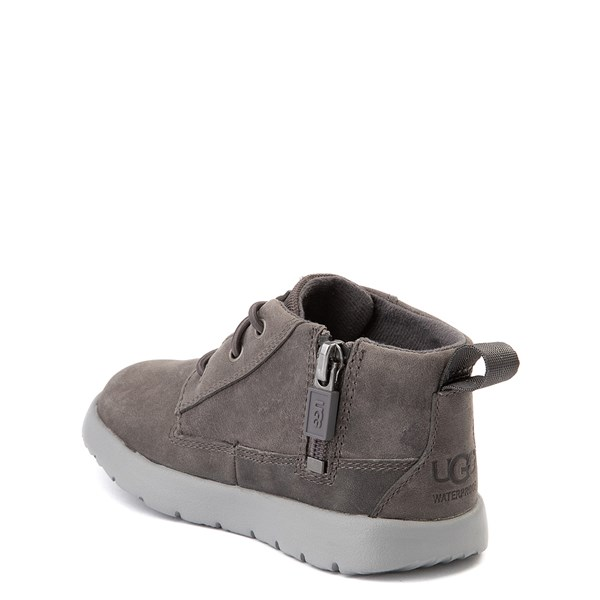 alternate view UGG® Canoe Chukka Boot - Toddler / Little Kid - CharcoalALT2