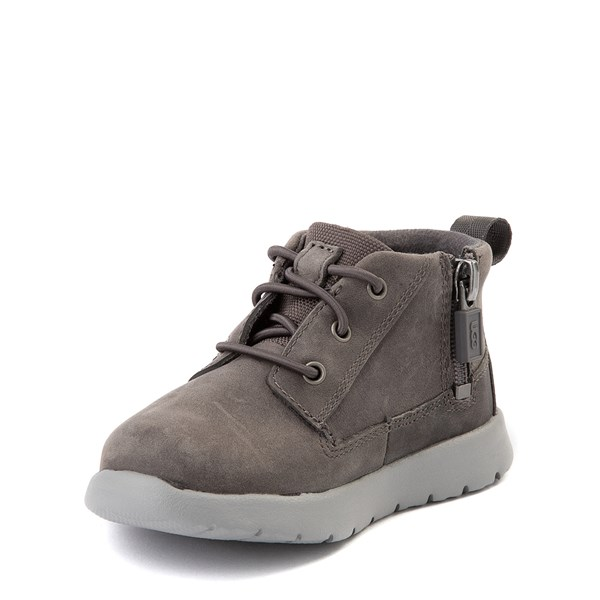 alternate view UGG® Canoe Chukka Boot - Toddler / Little Kid - CharcoalALT3