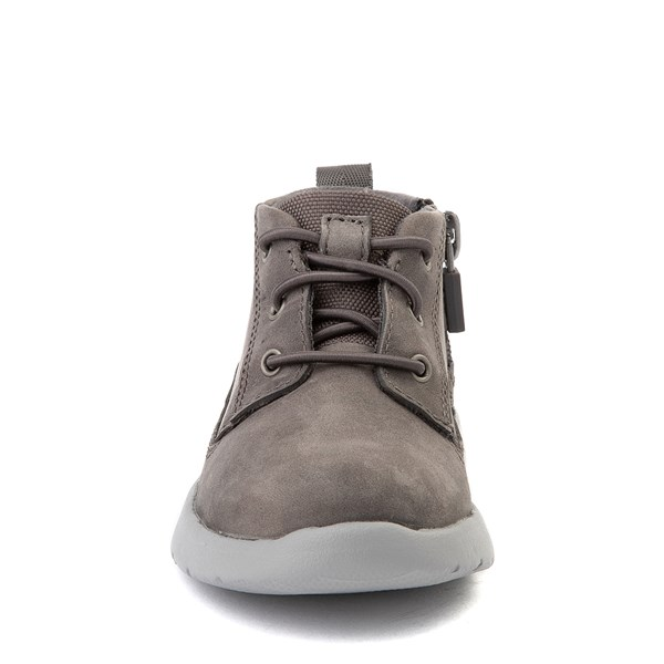 alternate view UGG® Canoe Chukka Boot - Toddler / Little Kid - CharcoalALT4
