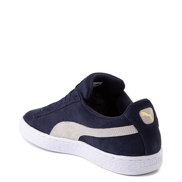 alternate view Mens Puma Suede Athletic Shoe - Peacoat BlueALT2