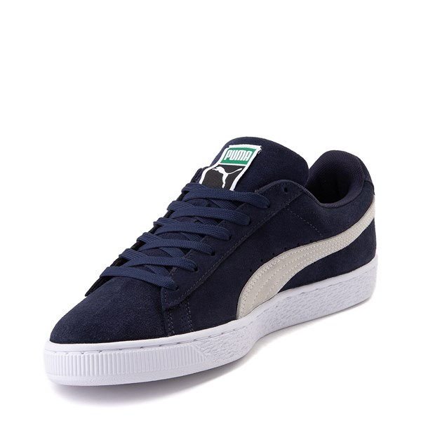 alternate view Mens Puma Suede Athletic Shoe - Peacoat BlueALT3