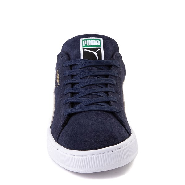 alternate view Mens Puma Suede Athletic Shoe - Peacoat BlueALT4
