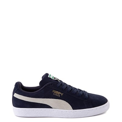 Main view of Mens Puma Suede Athletic Shoe - Peacoat Blue