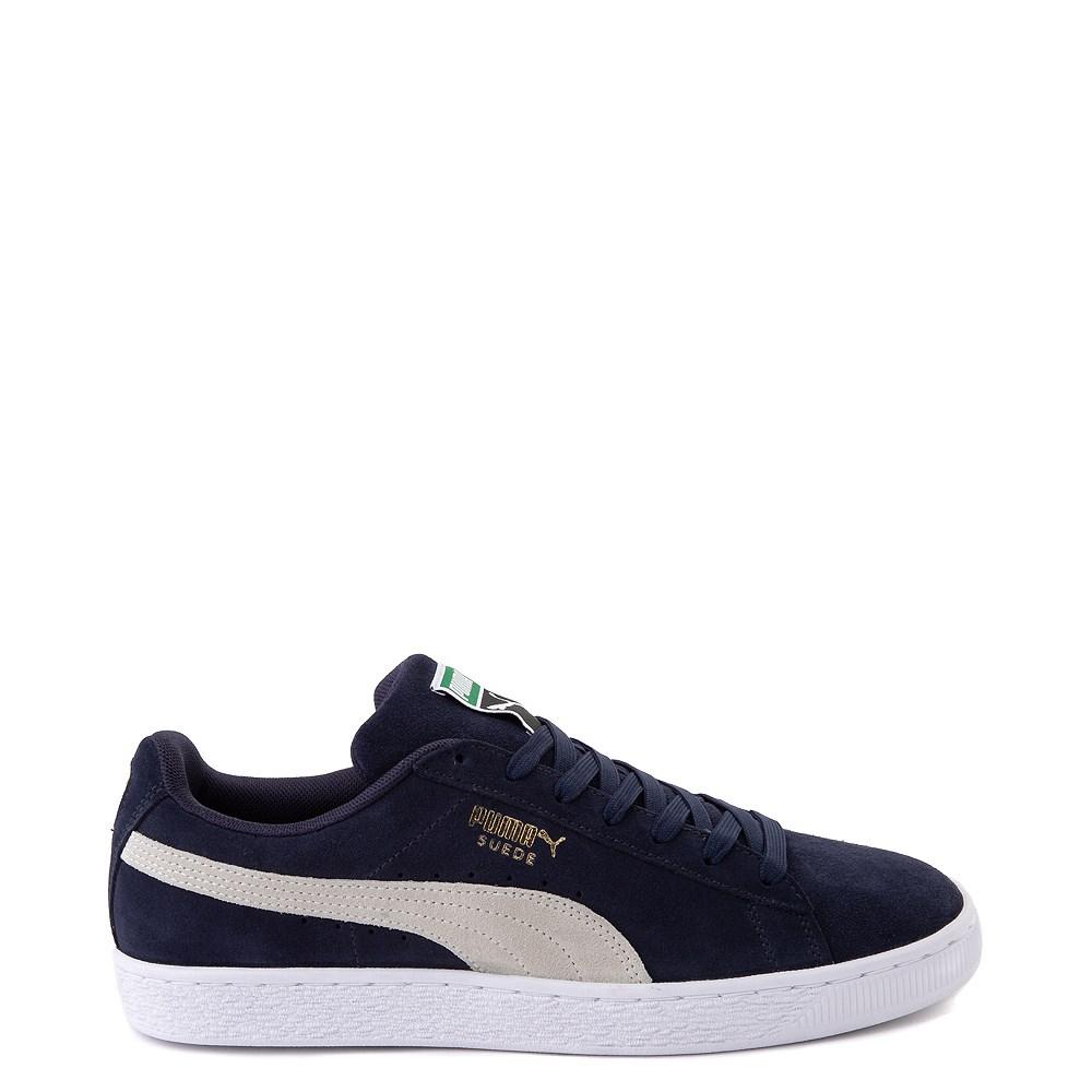 Mens Puma Suede Athletic Shoe - Peacoat Blue