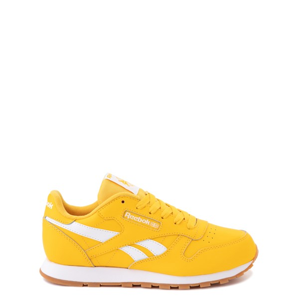 Main view of Reebok Classic Athletic Shoe - Big Kid - Toxic Yellow