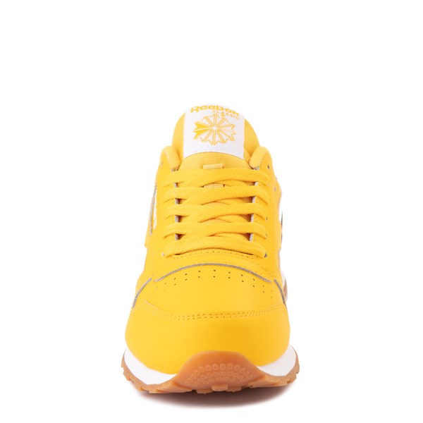 alternate view Reebok Classic Athletic Shoe - Big Kid - Toxic YellowALT4