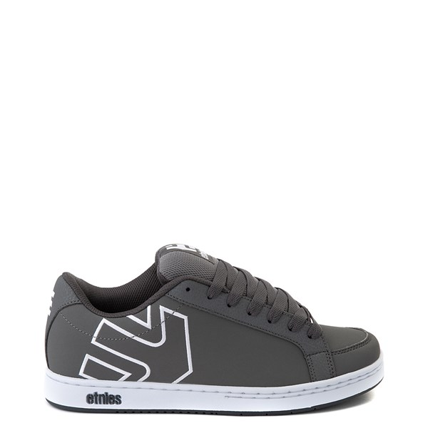 Mens etnies Kingpin 2 Skate Shoe - Gray / White