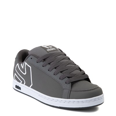 Alternate view of Mens etnies Kingpin 2 Skate Shoe - Gray / White