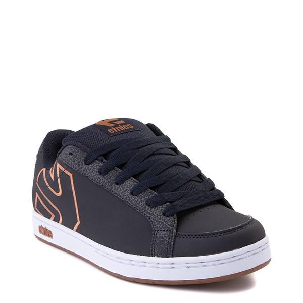 alternate view Mens etnies Kingpin 2 Skate Shoe - Navy / GumALT1