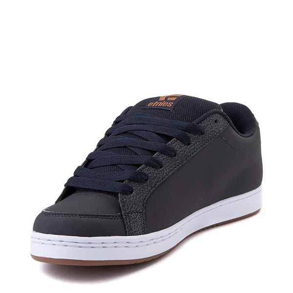 alternate view Mens etnies Kingpin 2 Skate Shoe - Navy / GumALT3