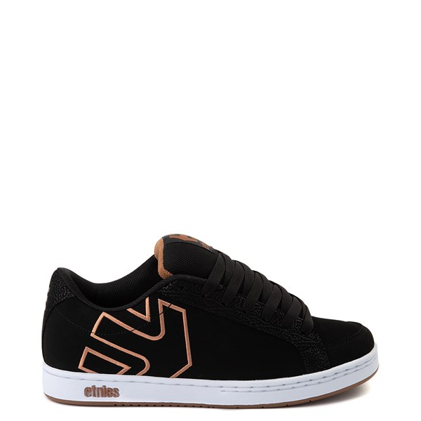 Main view of Mens etnies Kingpin 2 Skate Shoe - Black / Gum