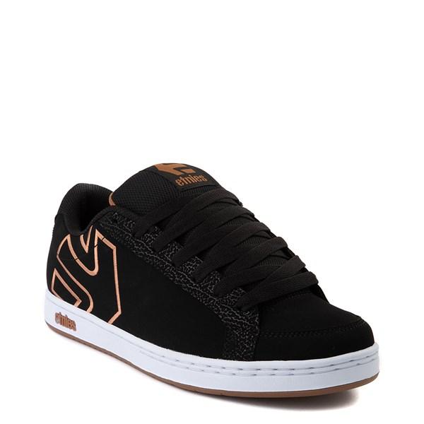 alternate view Mens etnies Kingpin 2 Skate Shoe - Black / GumALT1
