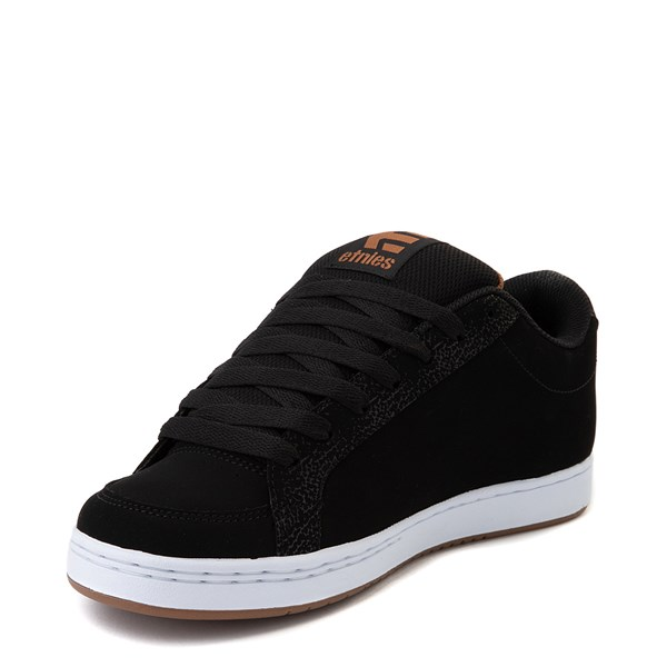 alternate view Mens etnies Kingpin 2 Skate Shoe - Black / GumALT3