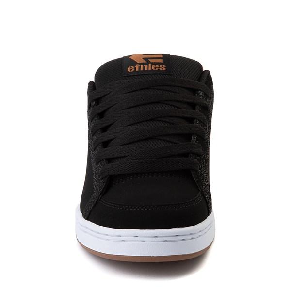 alternate view Mens etnies Kingpin 2 Skate Shoe - Black / GumALT4