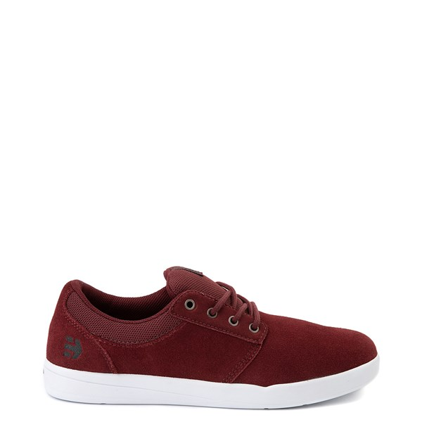 Mens etnies Score Skate Shoe-Burgundy / White