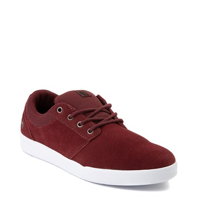 Alternate view of Mens etnies Score Skate Shoe-Burgundy / White