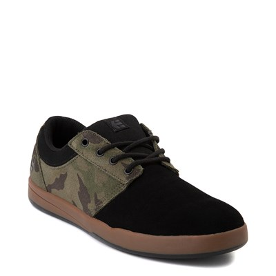 Alternate view of Mens etnies Score Skate Shoe - Black / Camo