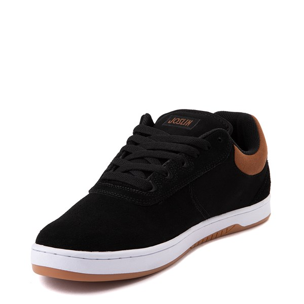 alternate view Mens etnies Joslin Pro Skate Shoe - Black / BrownALT3