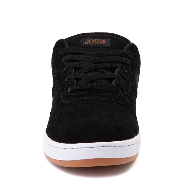 alternate view Mens etnies Joslin Pro Skate Shoe - Black / BrownALT4
