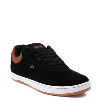 Alternate view of Mens etnies Joslin Pro Skate Shoe - Black / Brown