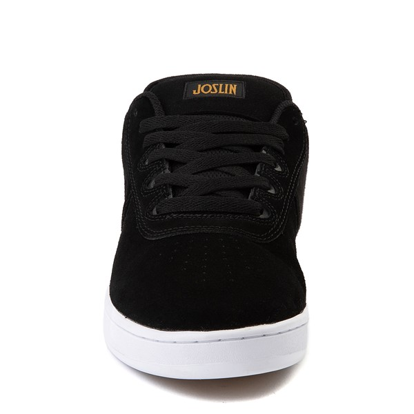 alternate view Mens etnies Joslin Pro Skate Shoe - Black / White / GumALT4