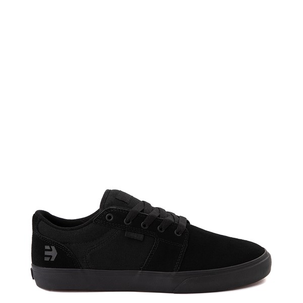 Main view of Mens etnies Barge LS Skate Shoe - Black Monochrome