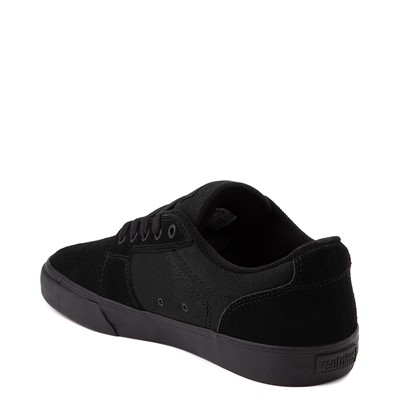Alternate view of Mens etnies Barge LS Skate Shoe - Black Monochrome