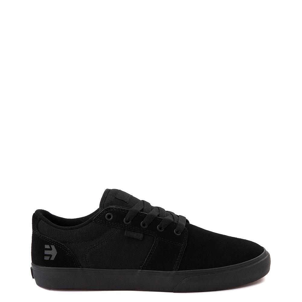 Mens etnies Barge LS Skate Shoe - Black Monochrome