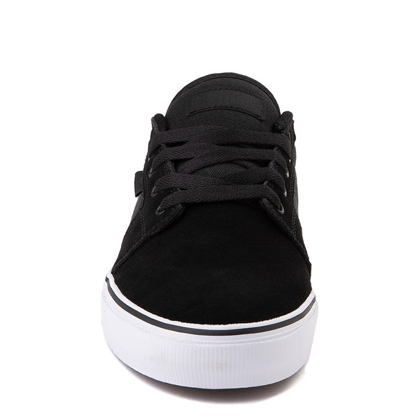 alternate view Mens etnies Barge LS Skate Shoe - Black / WhiteALT4