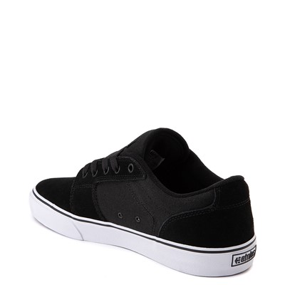 Alternate view of Mens etnies Barge LS Skate Shoe - Black / White