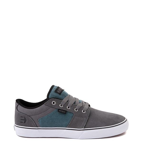 Mens etnies Barge LS Skate Shoe - Gray / Blue