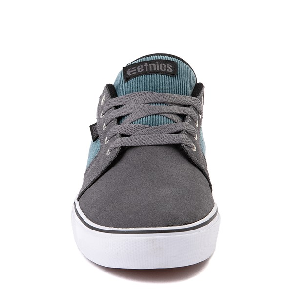 alternate view Mens etnies Barge LS Skate Shoe - Gray / BlueALT4