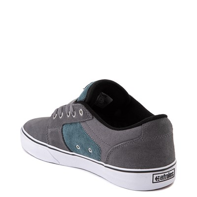 Alternate view of Mens etnies Barge LS Skate Shoe - Gray / Blue