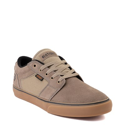 Alternate view of Mens etnies Barge LS Skate Shoe - Olive / Gum