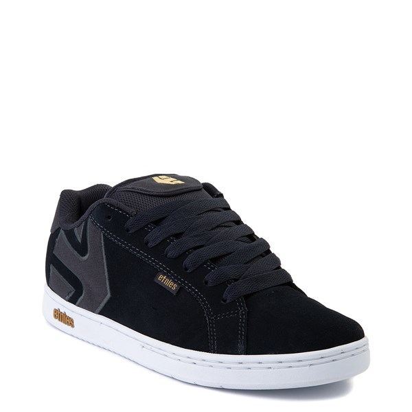alternate view Mens etnies Fader Skate Shoe - NavyALT1
