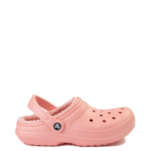 Crocs Classic Fuzz-Lined Clog - Melon