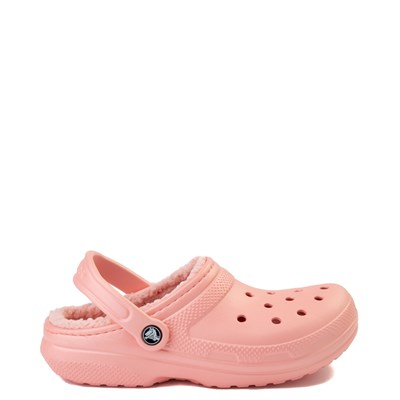 Main view of Crocs Classic Fuzz-Lined Clog - Melon