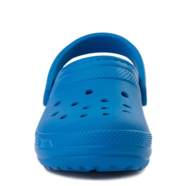 alternate view Crocs Classic Fuzz-Lined Clog - Bright CobaltALT4