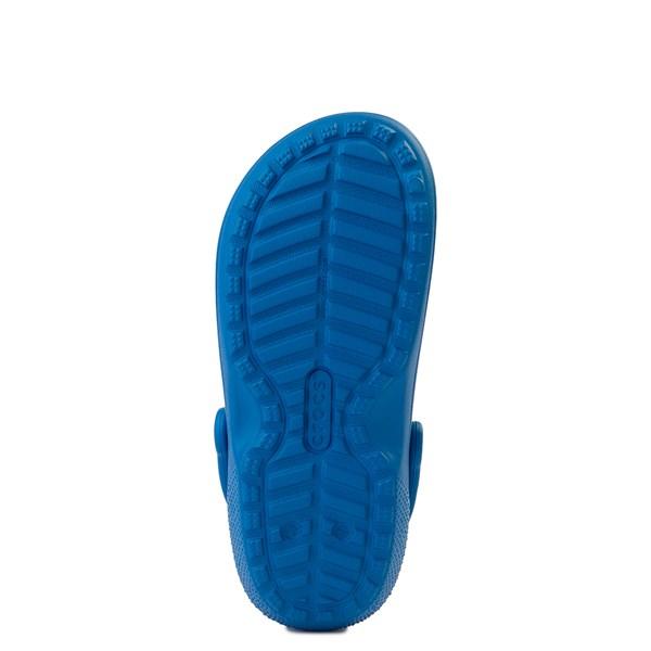 alternate view Crocs Classic Fuzz-Lined Clog - Bright CobaltALT5