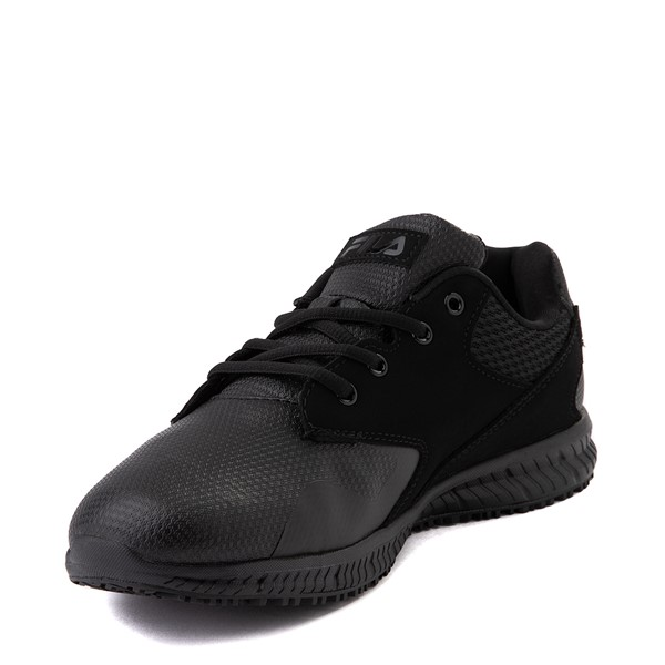 alternate view Mens Fila Memory Layers SR Work Shoe - BlackALT2